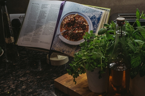 Cooking Books and Herbs